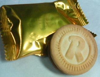 ロゼッタクリームサンドクッキー