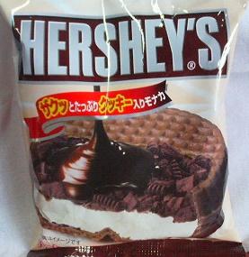 ロッテスノー ハーシー チョコクッキーモナカ